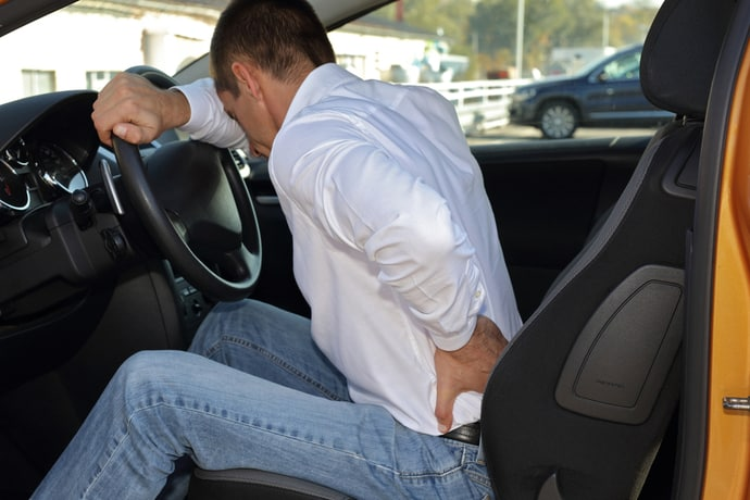 Preventing Back Pain When Driving