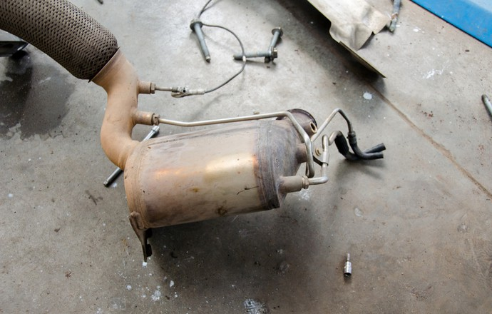 DPF Removed from Car with Problems