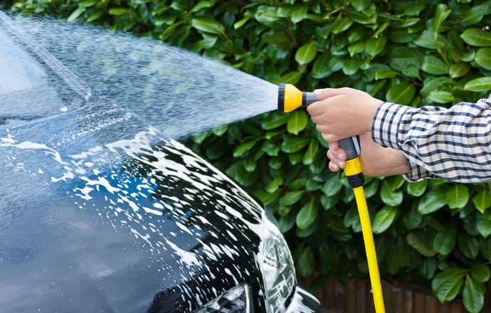 Best Hose Pipe Washing Car UK